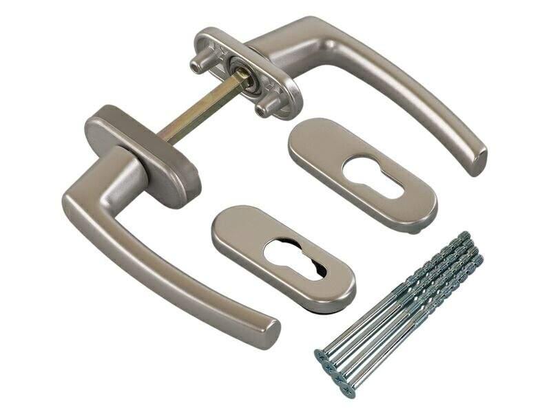 Балконная ручка Rotoline серебро