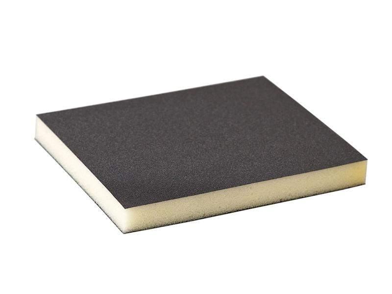 Губка шлифовальная 120x98x13мм P220 Flexifoam Soft Pad. SLG1133/220