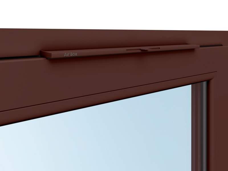 Клапан вентиляционный Air-Box Comfort, коричневый. AIR0010.05