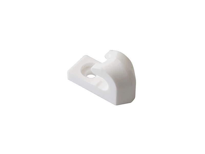Клипса сетчатой полки, FIRMAX, белая. FRM5502