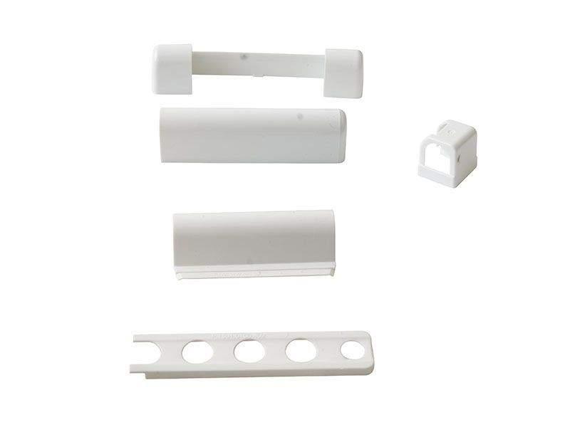 Комплект накладок, белый, (5 позиций). V45010107