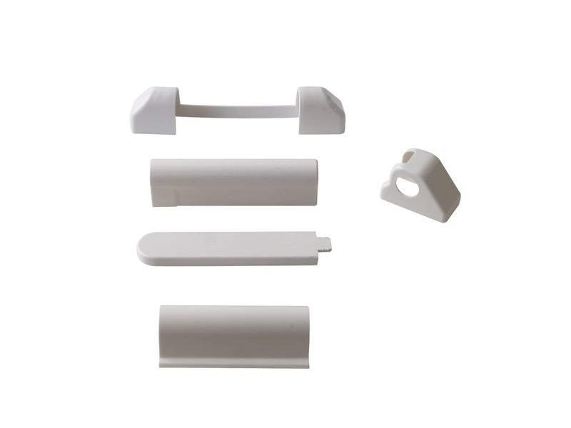 Комплект накладок, белый, (5 позиций), Elementis 2. VKP9016