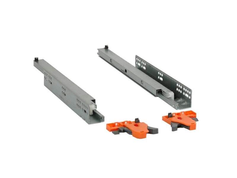 Комплект направляющих Firmax L=400мм, полного выдвижения, 3D регулировка. FRM0333.P40