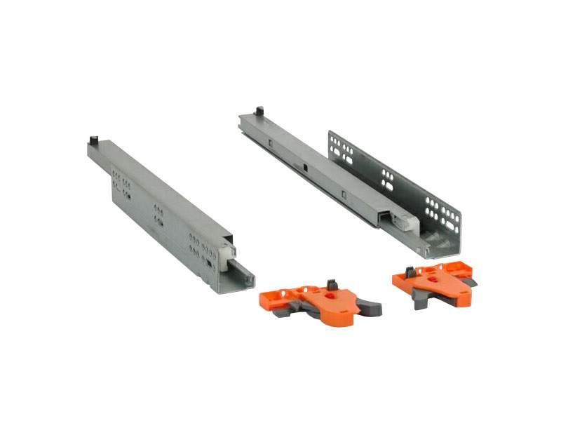 Комплект направляющих Firmax L=450мм, полного выдвижения, 3D регулировка. FRM0333.S45