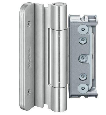 Комплект петель для дверей 3 шт. до 160 кг. оцинкованный. SIM4060.12