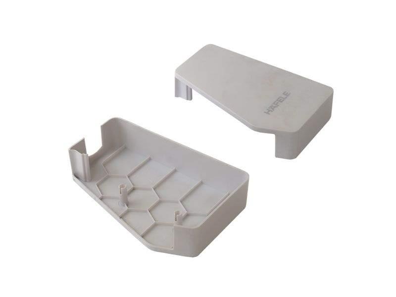 Комплекты заглушек (левая + правая) для механизма Free flap 1.7 (модели A,B,C), серый. HWL0200.Z43/1