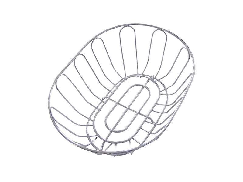 Корзина д/фруктов (овал), (320х240х340) (хром). MKCWJ240C