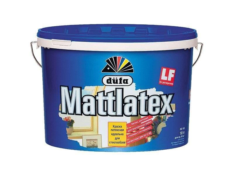 Краска водно-дисперсионная Dufa MATTLATEX RD100 (база 1) 10л. DFA001667