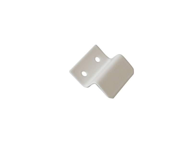 Кронштейн Bauset металл 10мм для МС нижний, белый. MOS1134.07