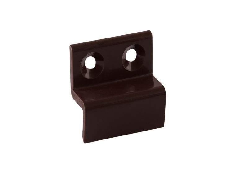 Кронштейн Bauset металл 10мм для МС нижний, коричненвый. MOS1134.05