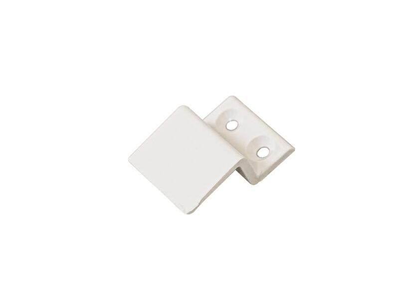 Кронштейн Bauset металл 10мм для МС верхний, белый. MOS1135.07