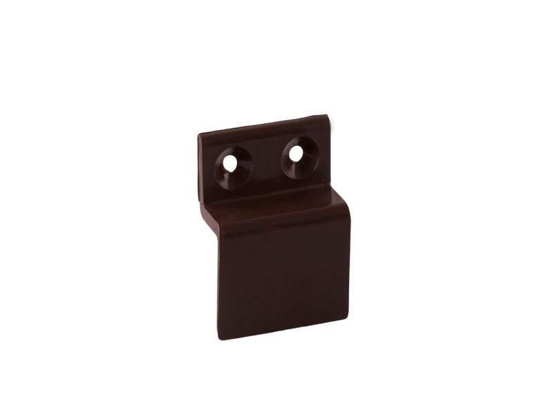 Кронштейн Bauset металл 10мм для МС верхний, коричненвый. MOS1135.05