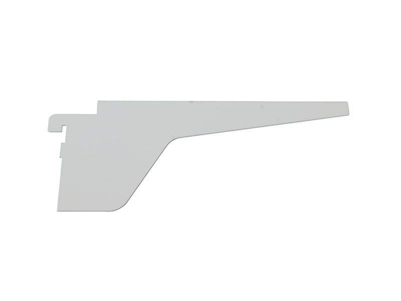 Кронштейн средний для полки ЛДСП 18мм FIRMAX, белый. FRM2541.07