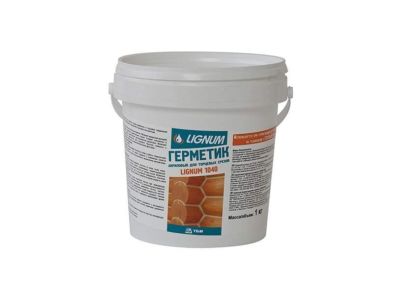 Герметик для торцов древесины LIGNUM 1040 прозрачный, 1л. LIN0003