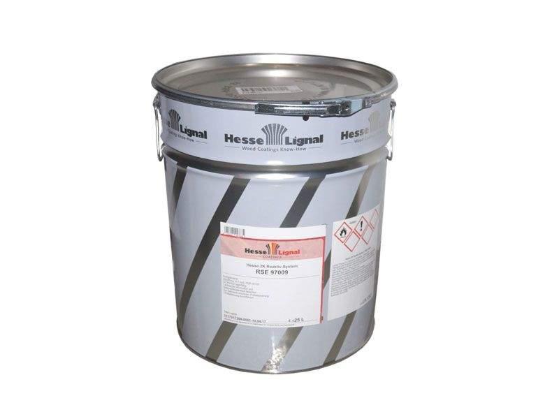 Лак для мебели реакционно-активный RSE 97009 бесцветный высоко-глянцевый 25л (10:1 HES0139). HES0166