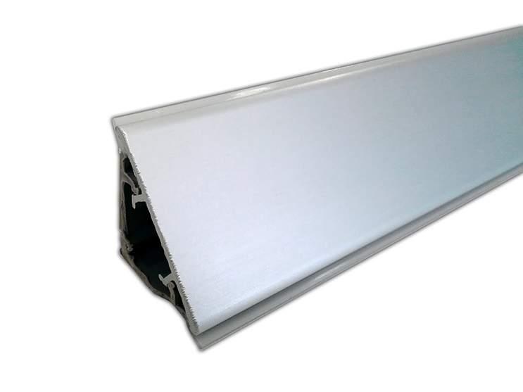 Пристеночный бортик, 30*25 мм, L=4000 мм, алюминиевый. SLM0052