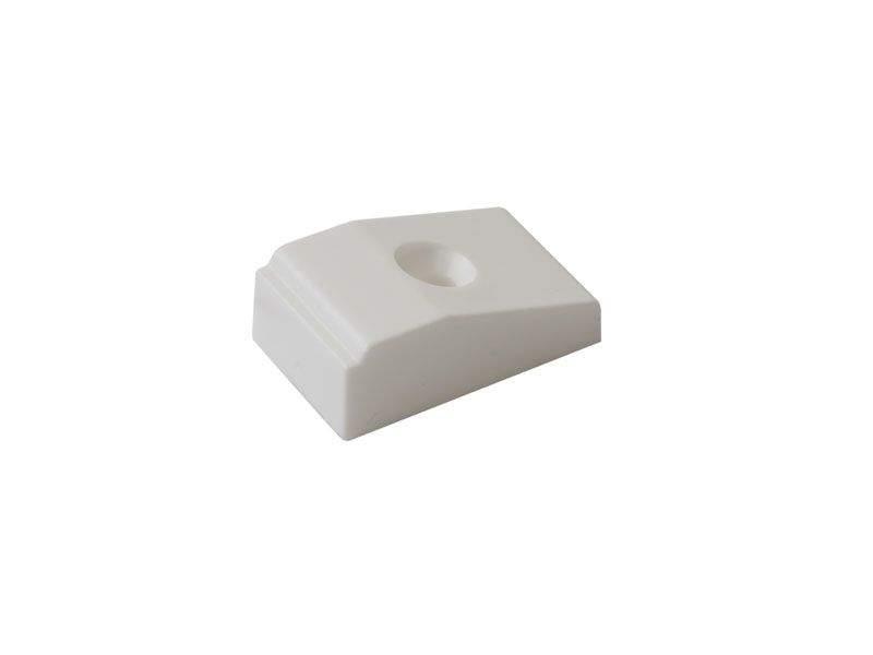 Подпятник от провисания без ножек, белый, Maxbar. ELE0011