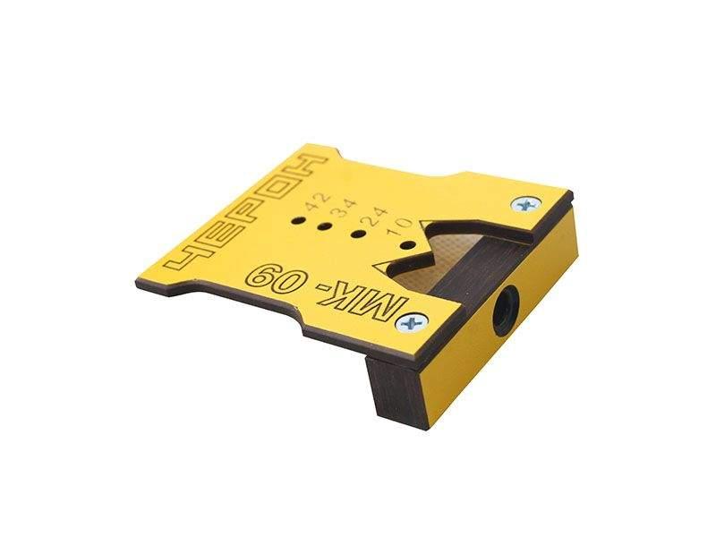 Мебельный кондуктор для эксцентиковых стяжек (минификс), стяжек-полкодержателей, МК-09. MSH0009