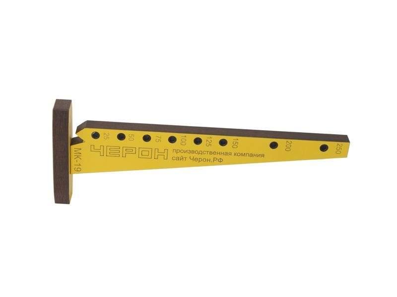 Мебельный кондуктор угольник малый шаг 25/50 диаметр втулки 5 мм, МК-19. MSH0019