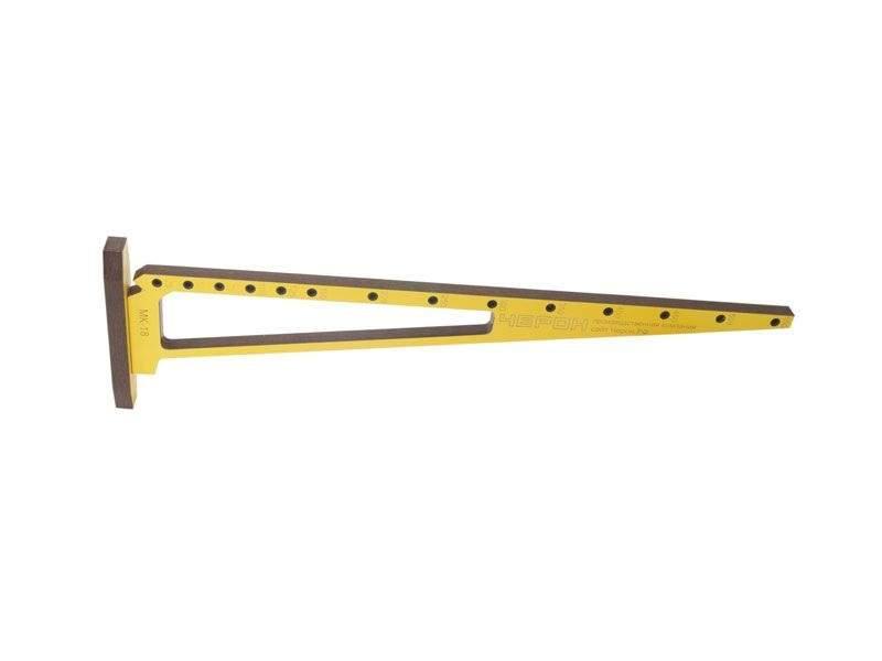 Мебельный кондуктор угольник шаг 25/50 диаметр втулки 5 мм, МК-18. MSH0018