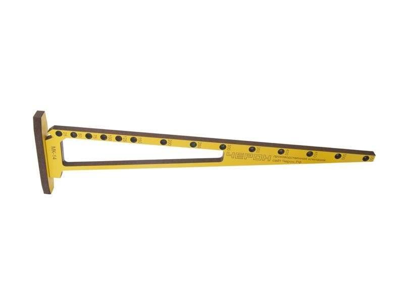Мебельный кондуктор угольник шаг 25/50 диаметр втулки 7 мм, МК-14. MSH0014
