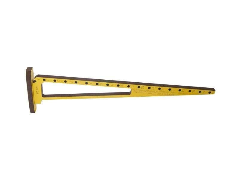 Мебельный кондуктор угольник система 32 диаметр втулки 5 мм, МК-20. MSH0020