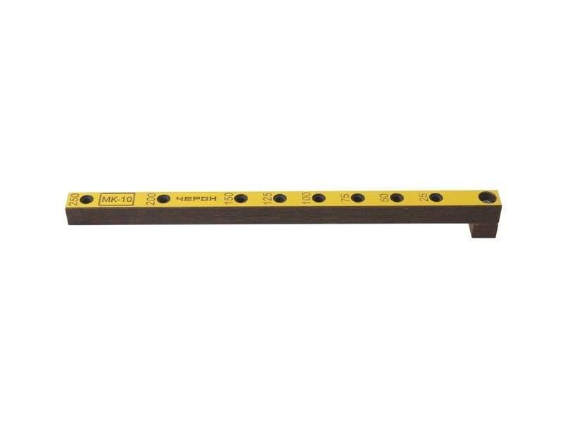 Мебельный кондуктор укороченный шаг 25/50 диаметр втулки 5 мм, МК-10. MSH0010