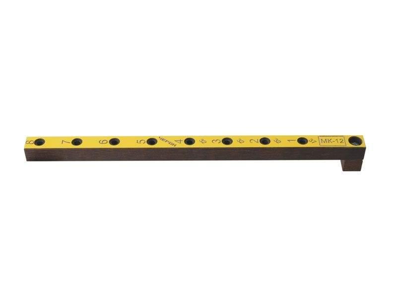 Мебельный кондуктор укороченный система 32 диаметр втулки 5 мм, МК-12. MSH0012
