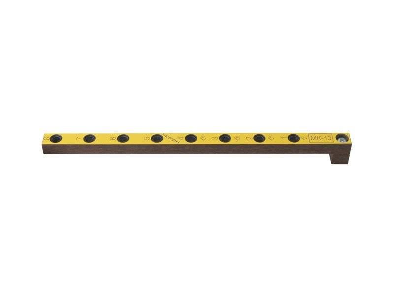 Мебельный кондуктор укороченный система 32 диаметр втулки 7 мм, МК-13. MSH0013