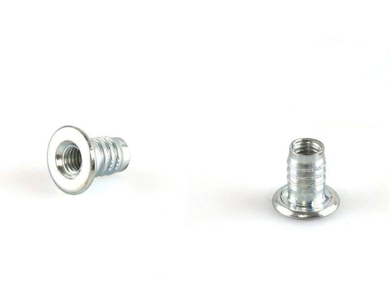 Муфта для опоры, М8, L=16мм, сталь, цинк BP02. PRM0178