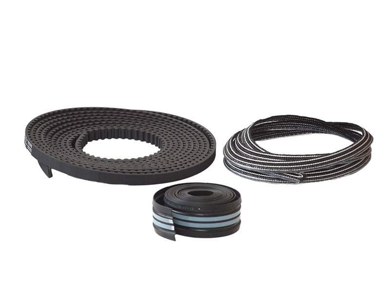 Набор для 1501 мм &lt,=LW&lt,=2000 мм: резиновая прокладка трека, щетка для зоны прохода, зубчатый ремень 8020084. DOR2073