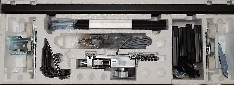 Набор для 1-створчатой двери с электромеханическим замком 4010221. DOR2029