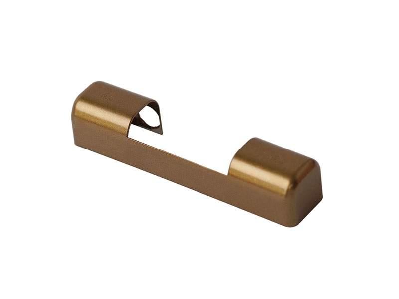 Накладка декоративная K верхняя рамная, для регулируемых петель, большая, темная бронза, Roto. 230311