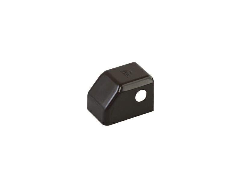 Накладка декоративная K нижняя рамная, малая, темно-коричневая, Roto. 258922