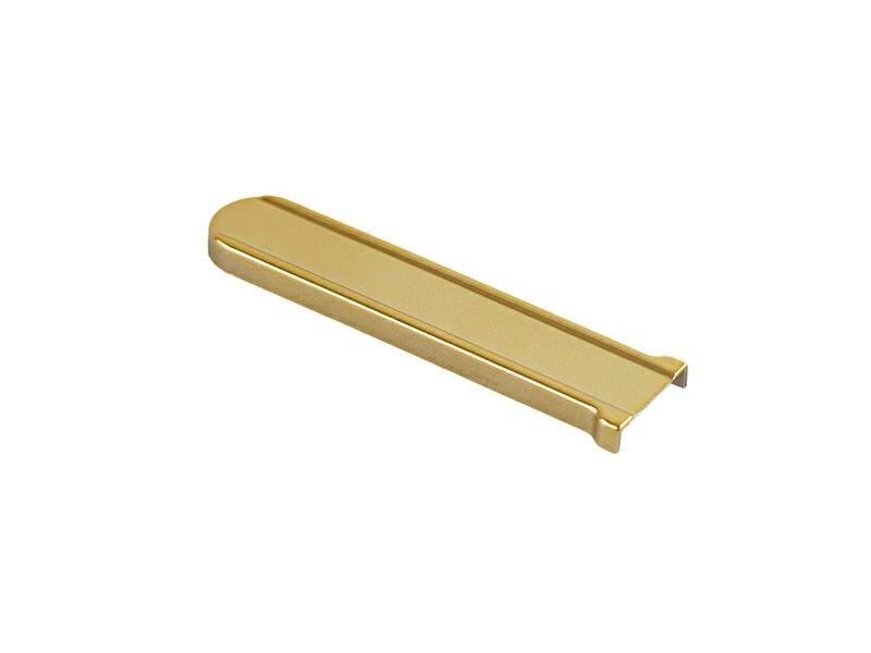 Накладка декоративная K нижняя рамная, большая, золото, Roto. 230419