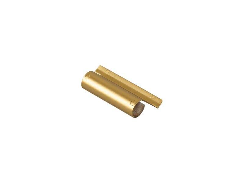 Накладка декоративная верхней петли на створке, WH, золото матовое, Siegenia. FKWB0020-L37060