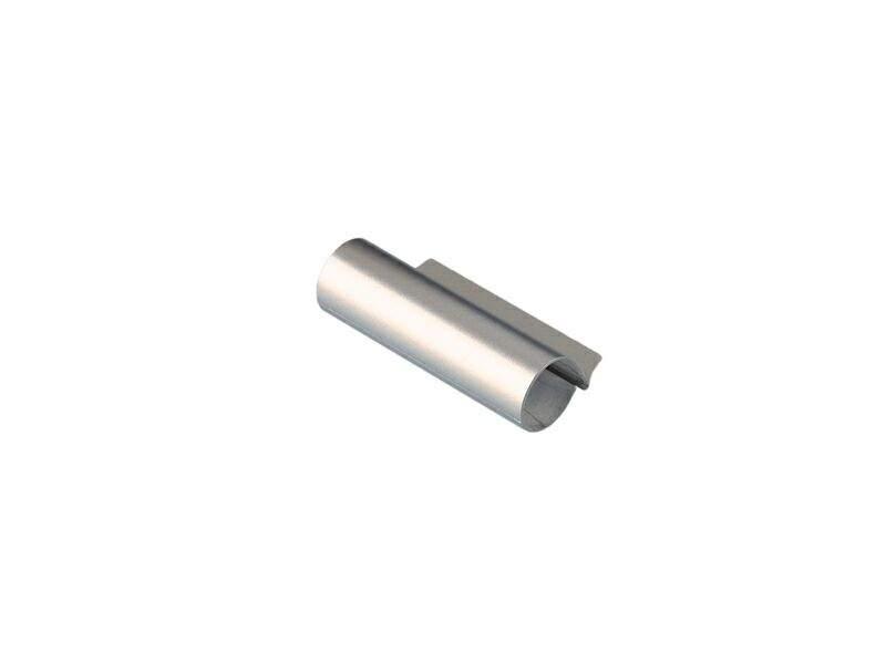 Накладка декоративная верхней петли на створке, W KF, серебро, Siegenia. FKWB0010-L25061