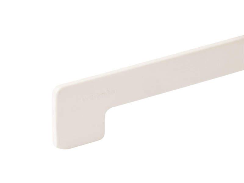 Торцевая заглушка Werzalit пластиковая 605×37мм, белая