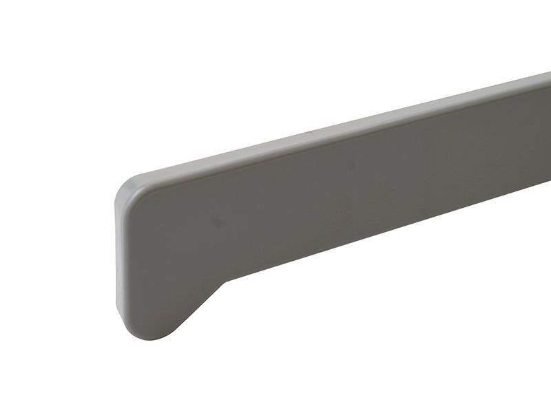 Накладка торцевая для подоконника Moeller LD S 30 460мм, серебро. MOL0010.50/6