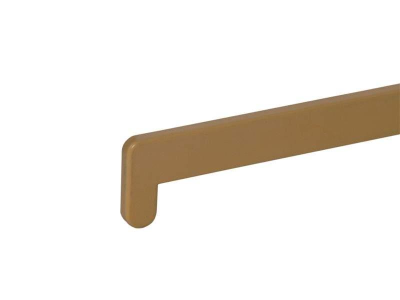 Накладка торцевая для подоконника В-40 /480мм/ светлый дуб-бук