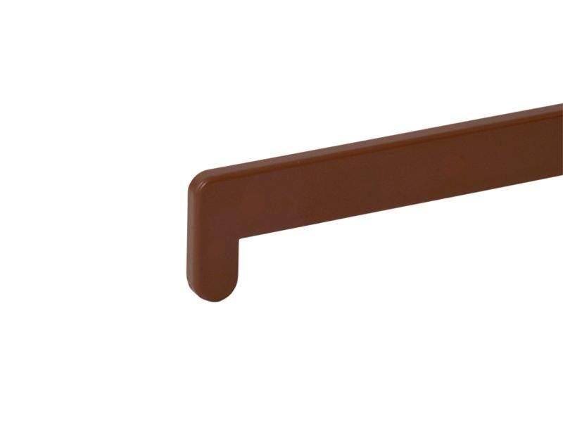 Накладка торцевая для подоконника В-40 /480мм/ золотистый дуб