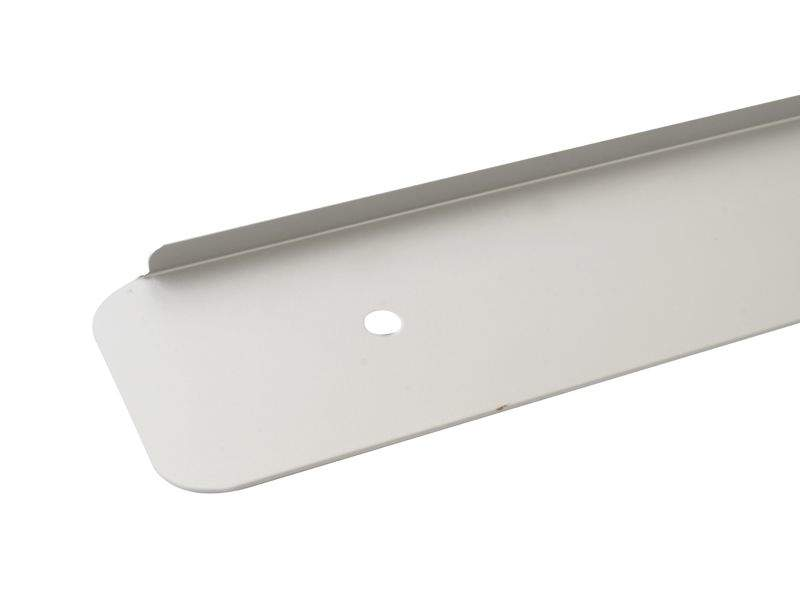 Накладки торцевая для столешницы R6 алюминий, левая. ZDN0638.02/L