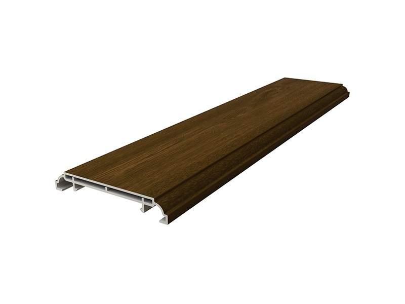 Наличник дверной Qunell N-75мм орех (Renolit 2178-007) 6,0 м. KNL0010.56/DVR
