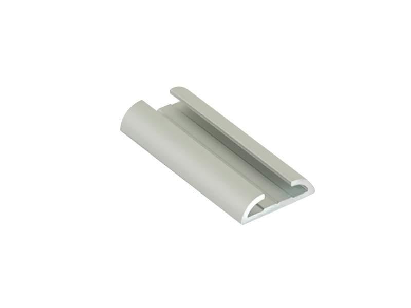 Направляющая для распашной двери FIRMAX, алюминий, серебро, L=5800 мм. FRM2420.02/11