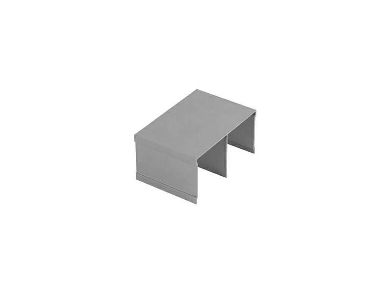 Направляющая верхняя FIRMAX, алюминий в ПВХ, римини, L=5800 мм. FRM2402.85/7