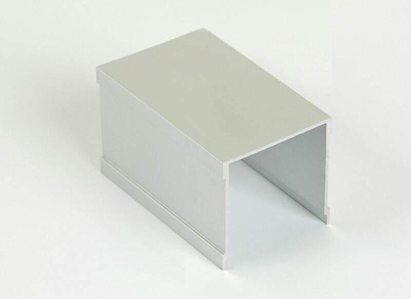 Направляющая верхняя однополозная FIRMAX, алюминий, серебро, 5800 мм. FRM2408.02/11
