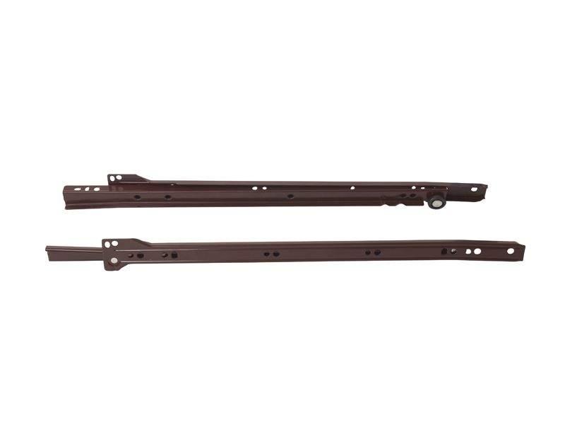 Роликовые направляющие Firmax 400мм, коричневый (4 части). FRM0273.05