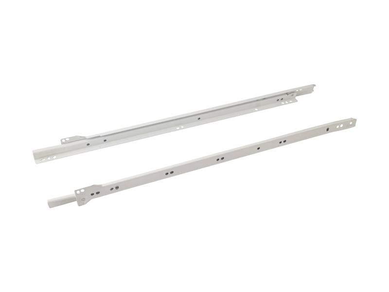 Роликовые направляющие Firmax 550мм, белый (4 части). FRM0276.07