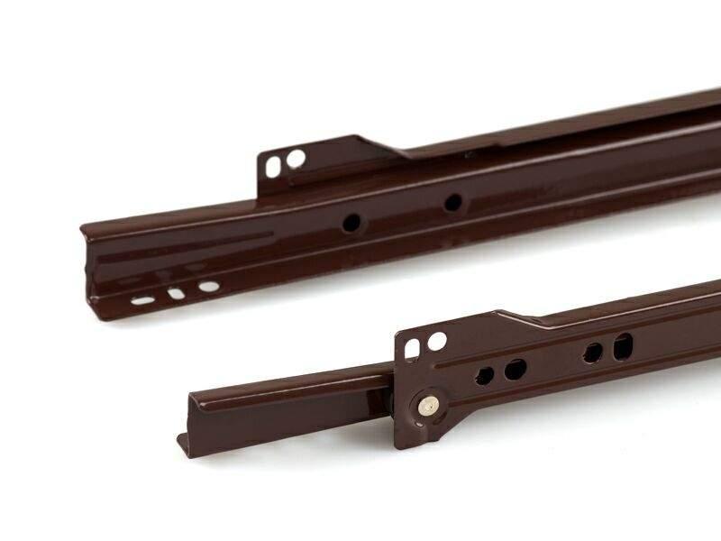 Роликовые направляющие Firmax 450мм, коричневый (4 части). FRM0274.05