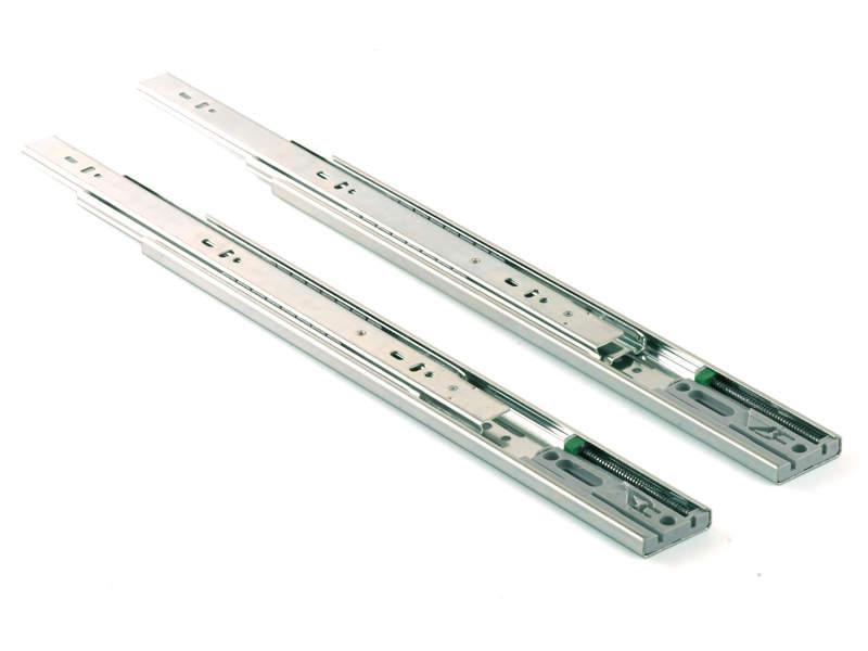 Шариковые направляющие полного выдвижения Firmax Push-to-Open, H=45 мм, L=450 мм. FRM9050.P45